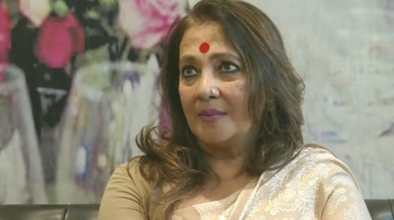 Moon Moon Sen had a stunning political victory in the 2014 Lok Sabha elections when she defeated the CPI(M) strongman Basudeb Acharia from Bankura.  (Photo: ANI)