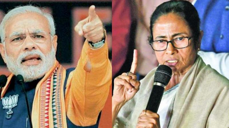 'I have heard you are an artist and your paintings were sold for crores of rupees in the name of Saradha and Narada scam,' PM Modi spoke at an election rally. (Photo: File)