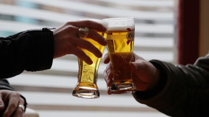 Stating that government regulations and hike in duties remain a risk to Indias developing beer market (Photo: AFP)