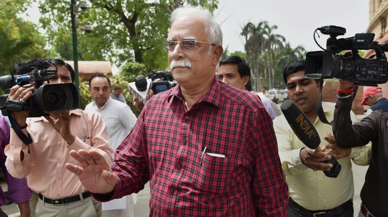 Civil Aviation Minister Pusapati Ashok Gajapathi Raju. (Photo: PTI)