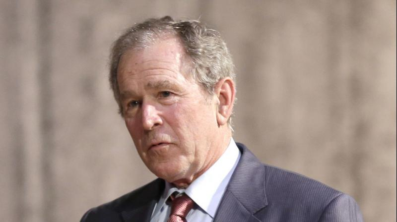 Former president George W Bush treated his Secret Service detail to pizza to show his appreciation (Photo:File)
