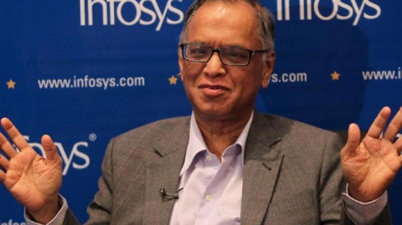 Infosys co-founder NR Narayana Murthy