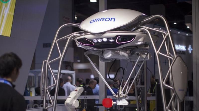 Other robots such as Qihan Technology's Sanbot and SoftBank Robotics' Pepper, are being