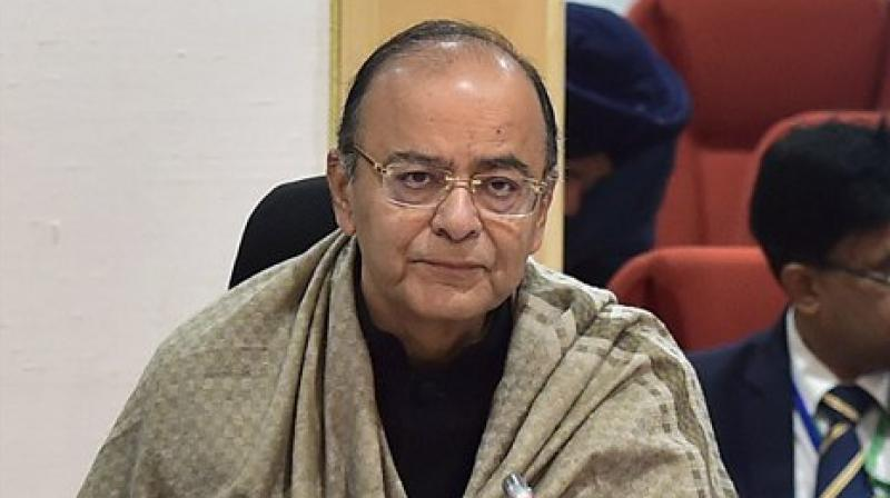 At a book release function here, Jaitley refrained from taking 84-year-old Sinha's name, but reminded him how he and the then Prime Minister Atal Behari Vajpayee had taken the finance portfolio from him. (Photo: File)
