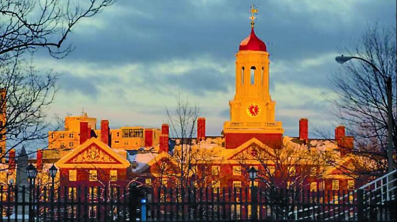 The Harvard University which is one of the most well funded varsities in the world.