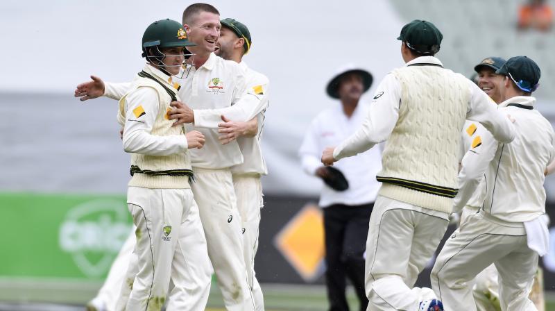 Australia won the first Test by 39 runs. (Photo: AP)