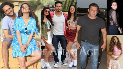 Bollywood celebrities like Salman Khan, Akshay Kumar, Disha Patani, Parineeti Chopra, Tiger Shroff, Swara Bhasker and others were snapped in the city of dreams, Mumbai. (Photos: Viral Bhayani)
