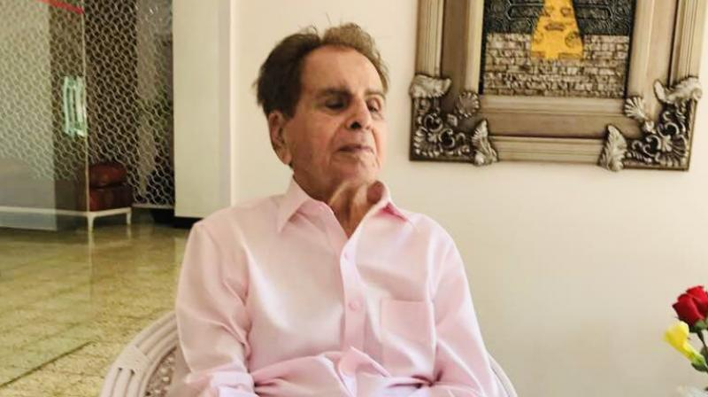 Dilip Kumar had been in an out of hospital in the last one month. (Photo: Twitter/@TheDilipKumar)