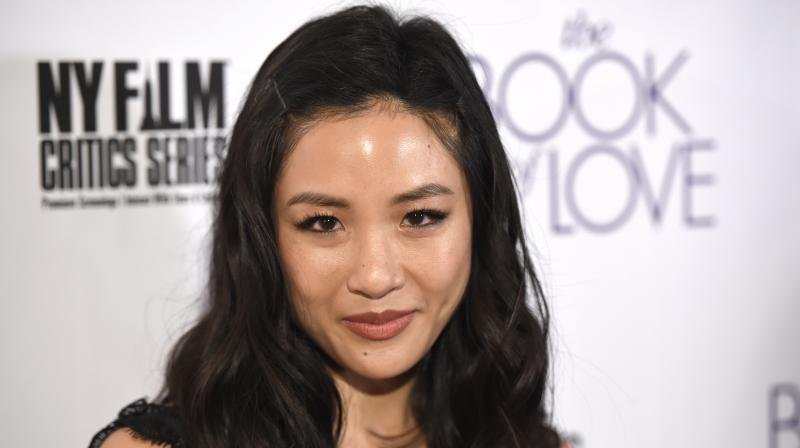 Constance Wu arrives at the Los Angeles premiere of