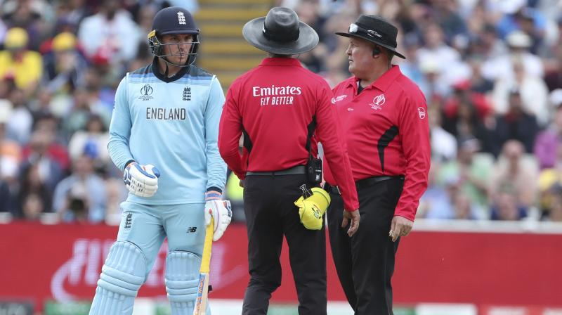 Australian Rod Tucker will be in the third umpire's chair and Pakistan's Aleem Dar will be the fourth official. (Photo: AP)