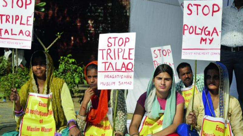 The Centre, during the earlier hearing, assured the apex court that it would come out with a law to regulate marriage and divorce among Muslims if triple talaq is upheld as invalid. (Photo: PTI)