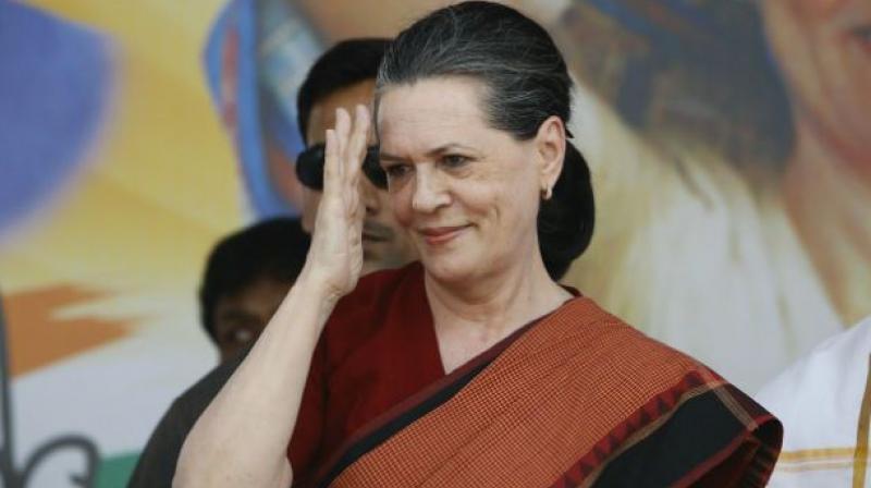 Congress President Sonia Gandhi. (Photo: PTI)