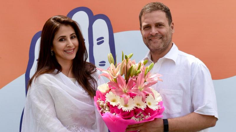 Congress' Mumbai-North Lok Sabha seat candidate Urmila Matondkar. (Photo: File)