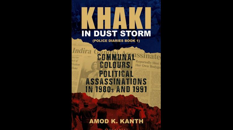 Cover page of Khaki in Dust Storm