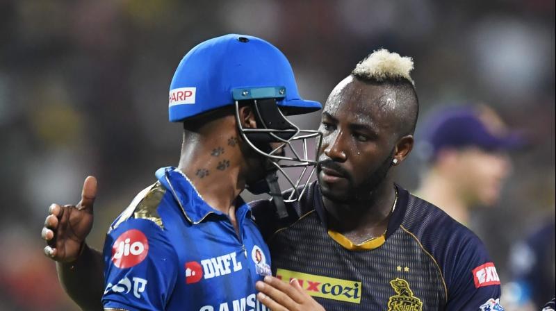 Saying Andre Russell and Avengers in one breath may sound a little more than odd. (Photo: AFP)