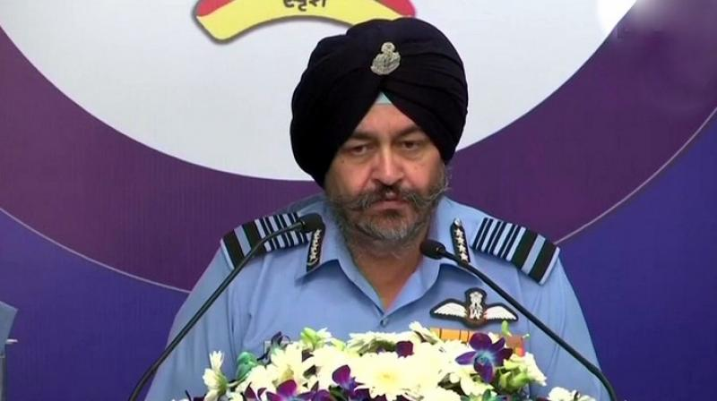 'We have got a good package, got a lot of advantages in Rafale deal,' Air Chief Marshal B S Dhanoa said. (Photo: Twitter | ANI)