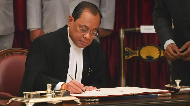 Chief Justice of India Ranjan Gogoi has dropped out of the high-powered selection panel because he was in the Supreme Court bench that reinstated him as CBI chief on Tuesday. (Photo: PTI | File)