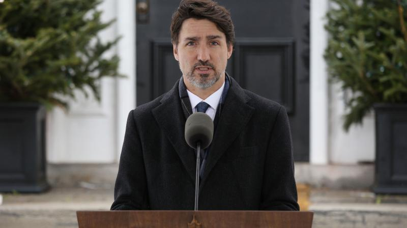 Canadian prime minister Justin Trudeau. (AFP)
