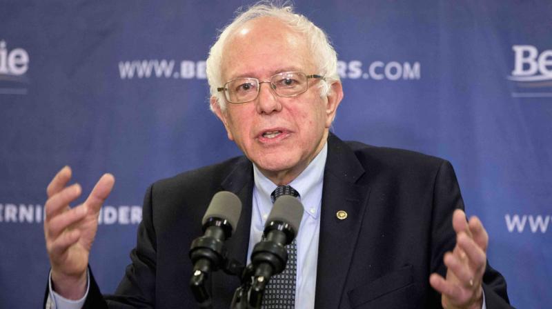 Democratic presidential candidate, Sen. Bernie Sanders. (AP)