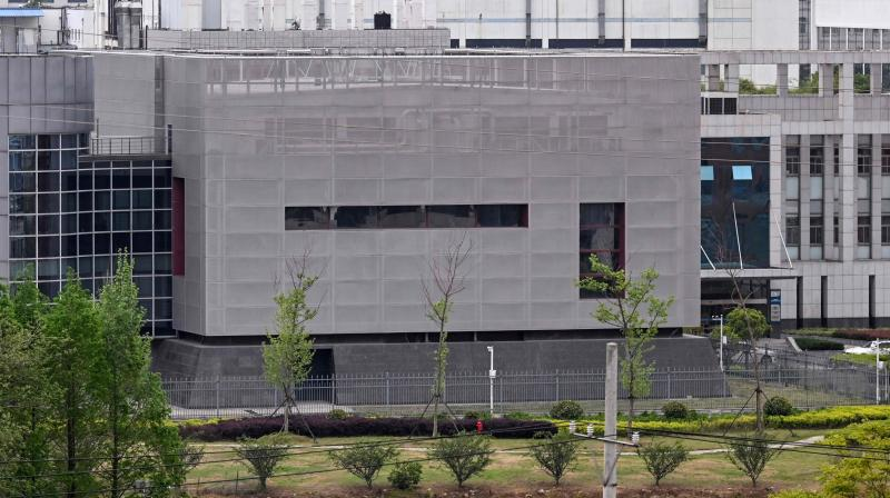 The P4 laboratory at the Wuhan Institute of Virology in Wuhan in China's central Hubei province. (AFP)