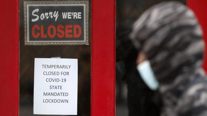 The U.S. unemployment rate hit 14.7% in April, the highest rate since the Great Depression, as 20.5 million jobs vanished in the worst monthly loss on record. The figures are stark evidence of the damage the coronavirus has done to a now-shattered economy. (AP)
