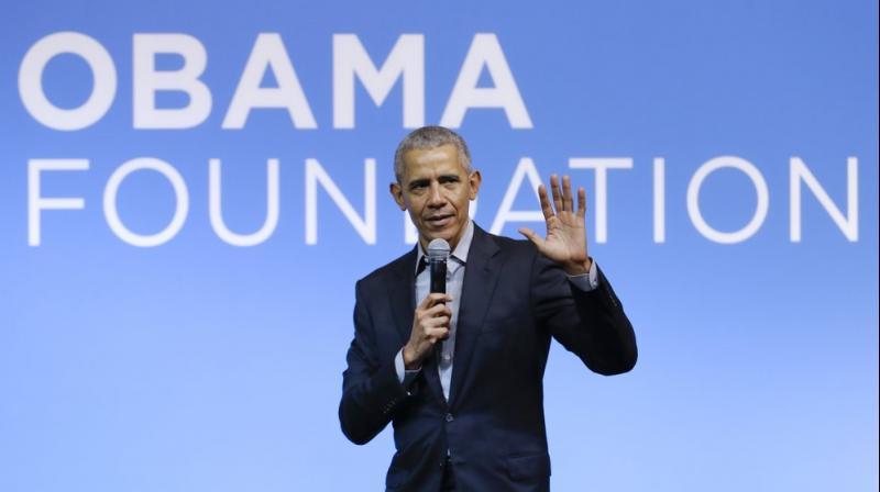 Former US president Barack Obama. (AP)