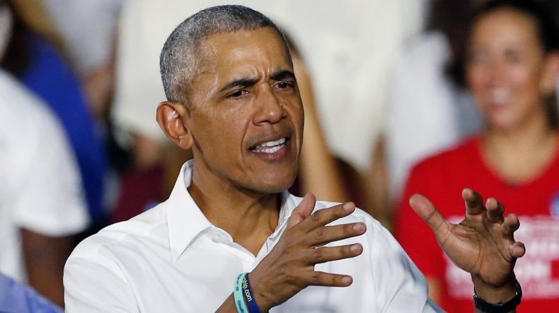 Former US President Barack Obama. (AFP)