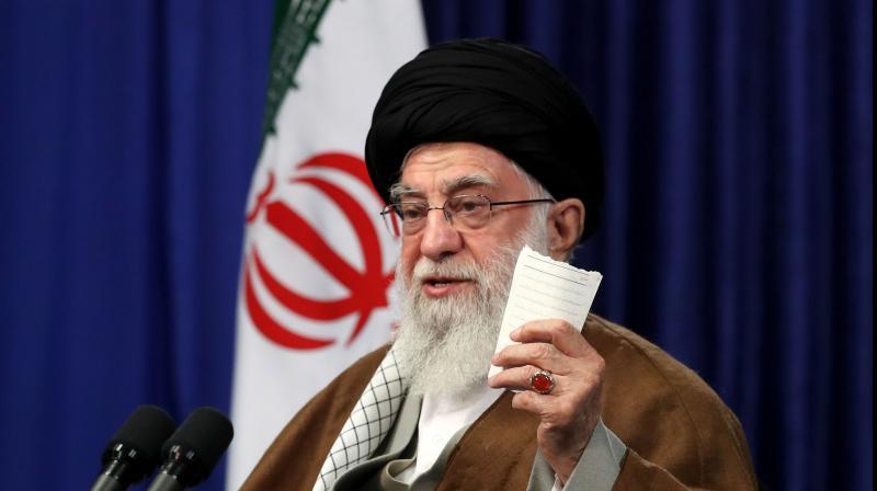 Iran's Supreme Leader Ayatollah Ali Khamenei. (AFP)