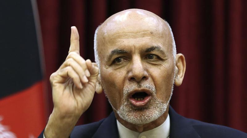 Afghan President Ashraf Ghani. (AP)