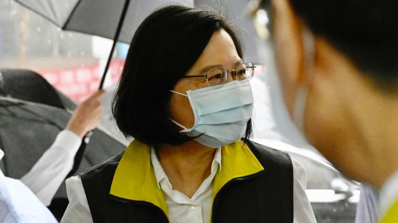 Taiwan's president rejects Chinese rule amid coronavirus success