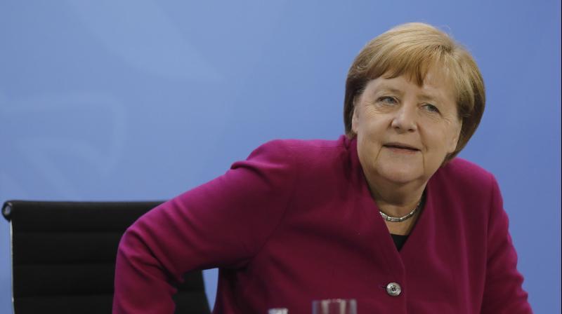 German Chancellor Angela Merkel. (AP)