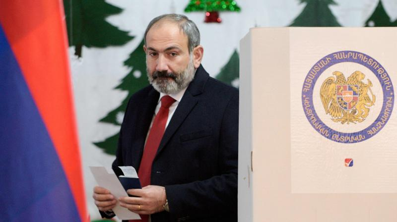 Armenia's Prime Minister Nikol Pashinyan. (AFP)