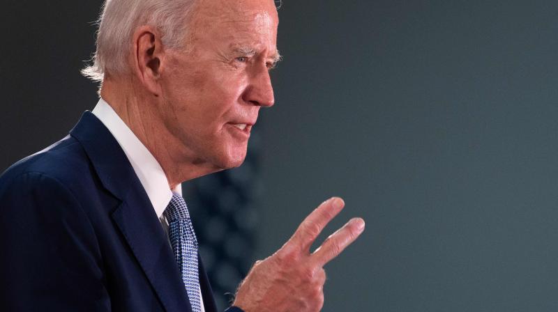 Presumptive Democratic presidential nominee and former Vice President Joe Biden. (AFP)