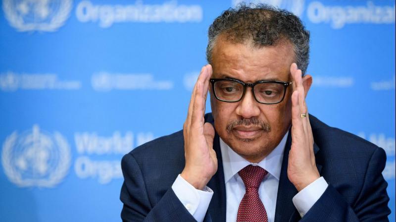 WHO Director-General Tedros Adhanom Ghebreyesus. (AFP)
