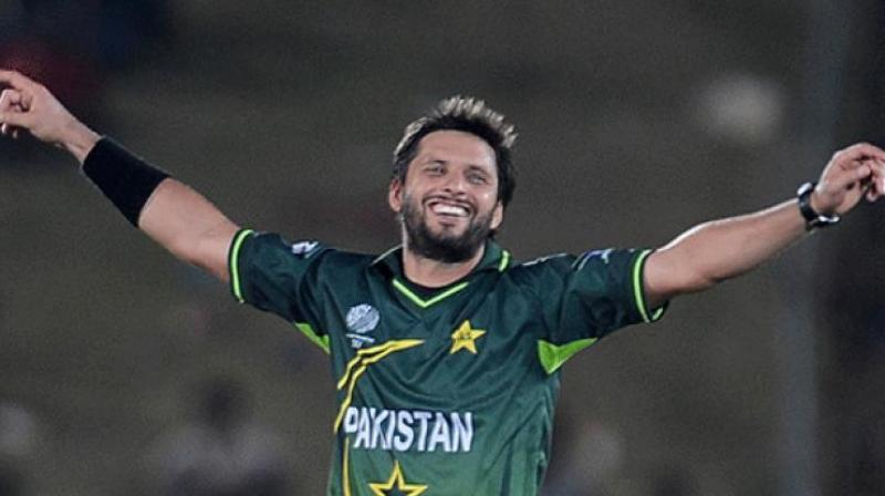 Former Pakistan captain Shahid Afridi. (AFP)