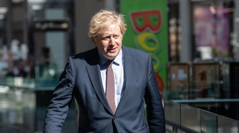 Britain's Prime Minister Boris Johnson. (AFP)