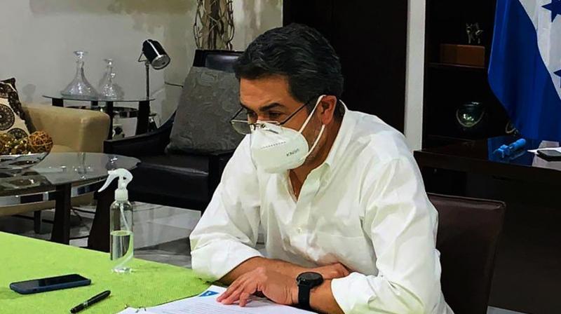 Honduran President Juan Orlando Hernandez. (AFP)