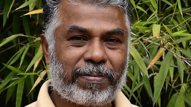 Writer Perumal Murugan. (Photo by: Kalachavadu)