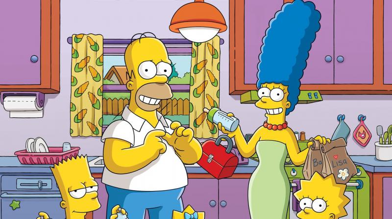 The Simpsons. (via AP)