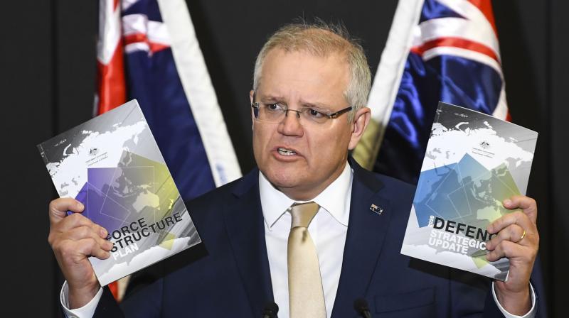 Australian Prime Minister Scott Morrison. (AP)