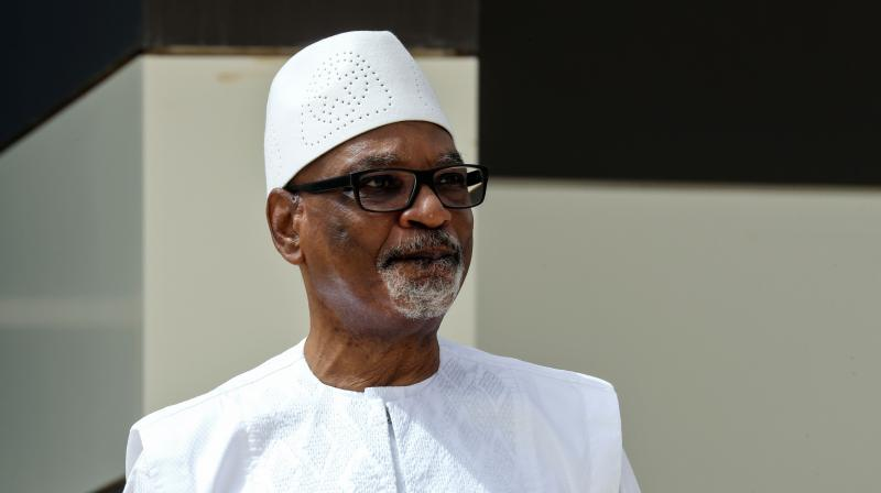 Ibrahim Boubacar Keita, ousted as president of Mali last month in a military coup, has flown to the United Arab Emirates for medical treatment, the new junta said on September 5, 2020. Family and airport sources confirmed that Keita, who left hospital on September 3, 2020 after treatment for a mini-stroke, had flown out of the country on September 5, 2020. (AFP)