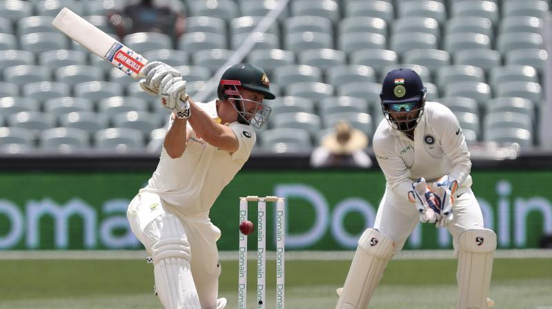 Shaun Marsh became the first Australian since 1888 to be dismissed for single digit score six consecutive times. (Photo: AP)