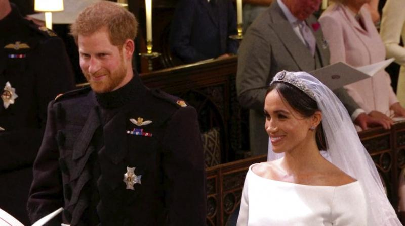 The pair have invited 2,640 members of the public to their wedding, including 1,200 people who have demonstrated strong leadership in their communities. (Photo: AP)