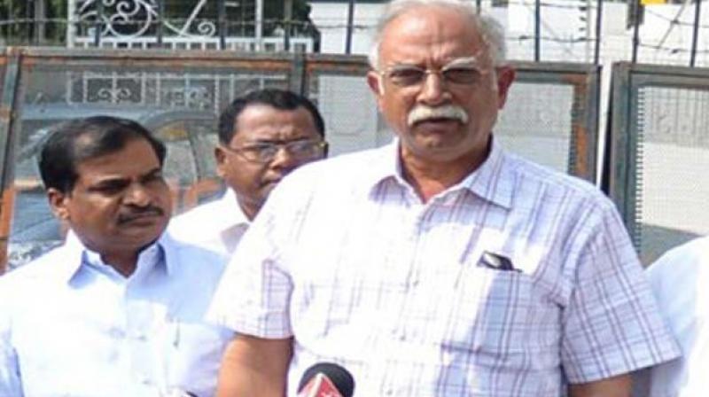 Civil Aviation Minister Ashok Gajapathi Raju