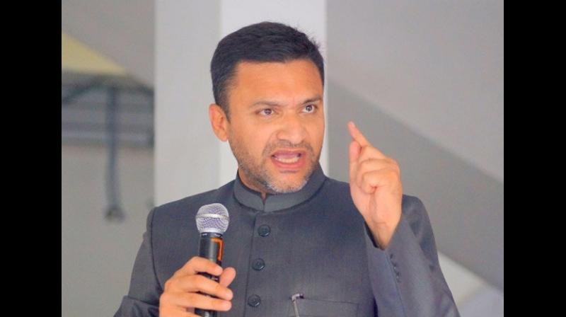 Addressing a gathering in Karimnagar in July, Owaisi had said, 'People scare those who get scared easily and are scared of those who know how to scare them. Why do they (RSS) hate me? It is because they have not been able to overcome the '15 minutes' statement made by me.' (Photo: File   ANI)