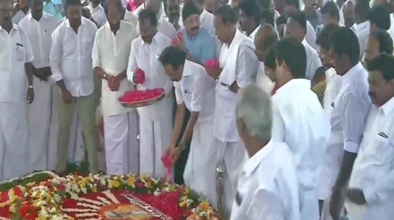 Stalin who contested his first major elections after his father and party patriarch M Karunanidhi's death last year vindicated himself by winning 37 out of 38 parliamentary seats in Tamil Nadu. (Photo: ANI)