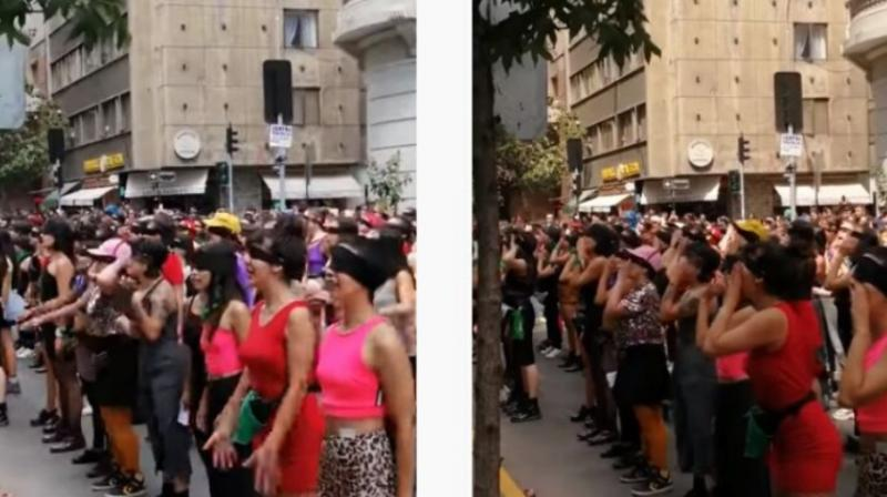 From quiet beginnings just a few weeks ago, The Rapist is You! - the creation of four performance artists from a Chilean feminist group - has turned into a mighty global roar against sexual violence. (Photo: Youtube/ screengrab)