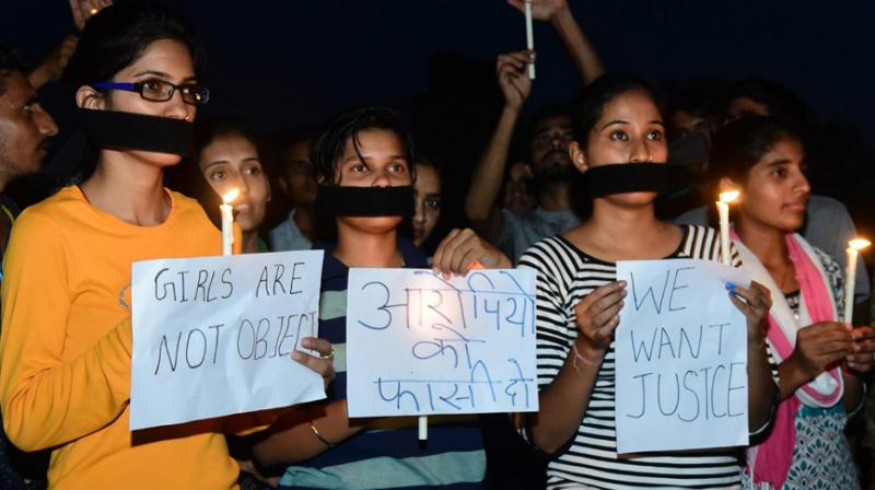 Three persons were arrested in Gujarat's Bhavnagar district for allegedly raping a minor girl repeatedly over a year, while the victim's mother, who abetted the crime, is absconding, said police on Sunday. (Photo: PTI)