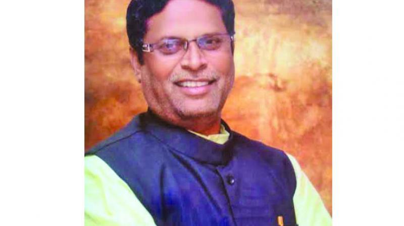 Senior leader and party spokesperson Girish Vyas