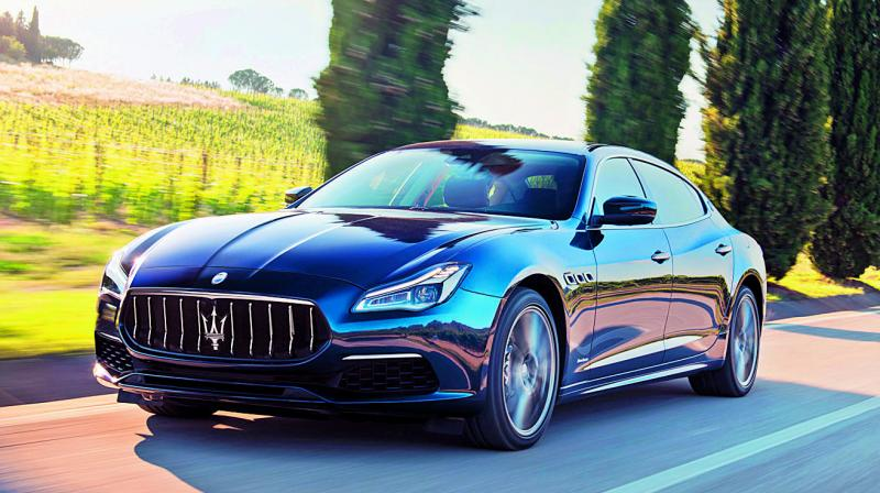 Italian super sports car maker Maserati, on Thursday introduced the petrol derivatives of the Ghibli, Quattroporte sedans and the Levante sports utility vehicle for the first time in Asia's third biggest economy as part of its 2020 range to expand its customer base.